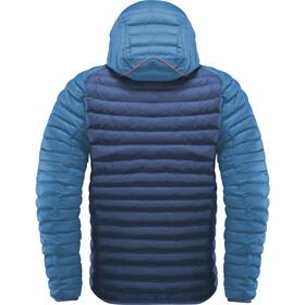 Haglöfs Essens Mimic Hooded Jacket Herr tarn blue/blue ink